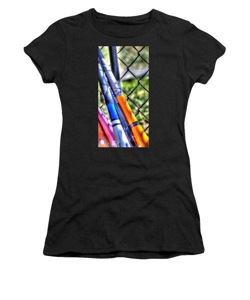 Bats 1802 Women's T-Shirt (Athletic Fit)