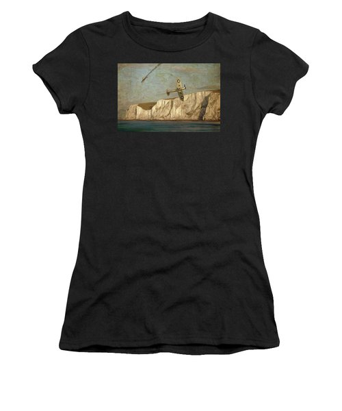 Battle Of Britain Over Dover Women's T-Shirt