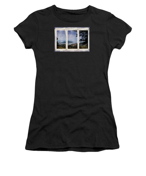 Bay Area Women's T-Shirt (Junior Cut) by Judy Wolinsky
