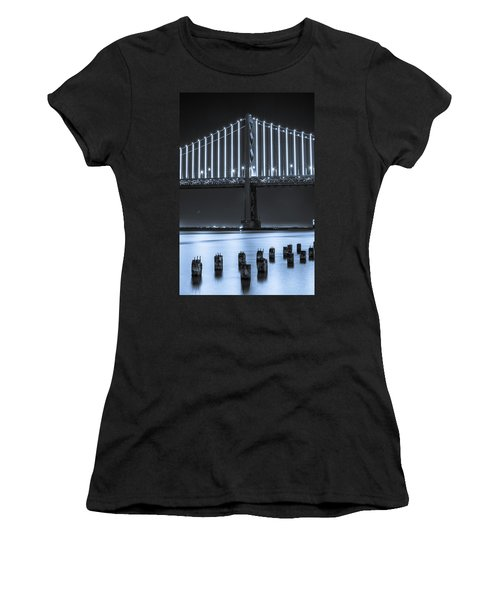Bay Bridge 2 In Blue Women's T-Shirt