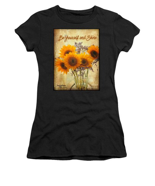 Be Yourself And Shine Women's T-Shirt