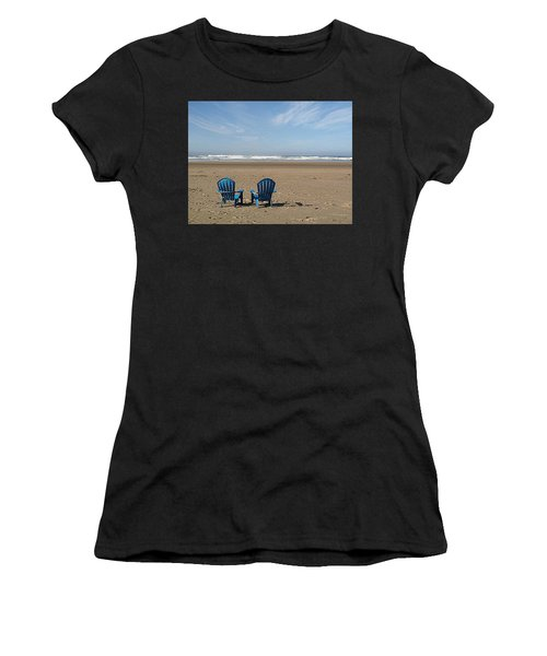 Beach Chair Pair Women's T-Shirt
