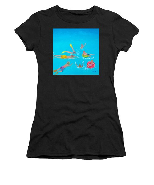 Beach Decor 'holiday Splash' By Jan Matson Women's T-Shirt