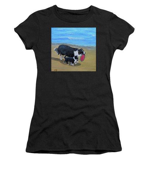 Beach Frisbee Women's T-Shirt