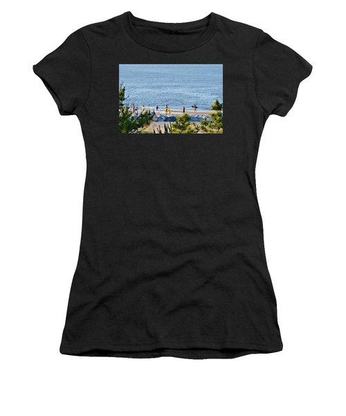 Beach Fun At Cape Henlopen Women's T-Shirt