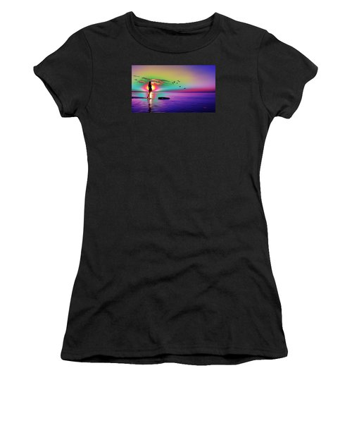 Beach Girl 3 Women's T-Shirt (Athletic Fit)
