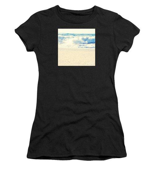 Women's T-Shirt featuring the photograph Beach Gold by Sharon Mau