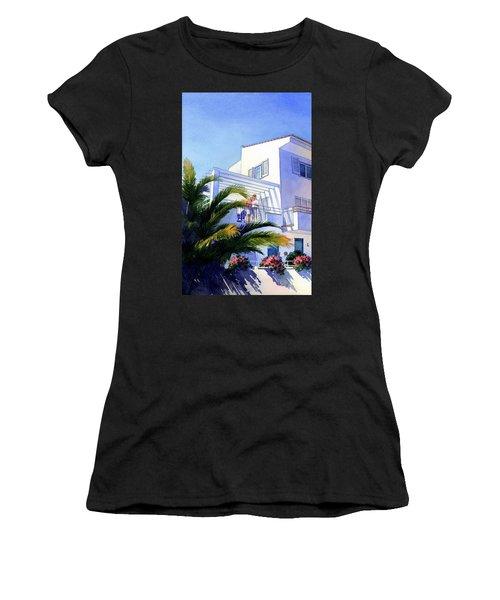 Beach House At Figueres Women's T-Shirt
