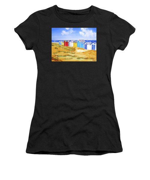 Beach Huts Women's T-Shirt