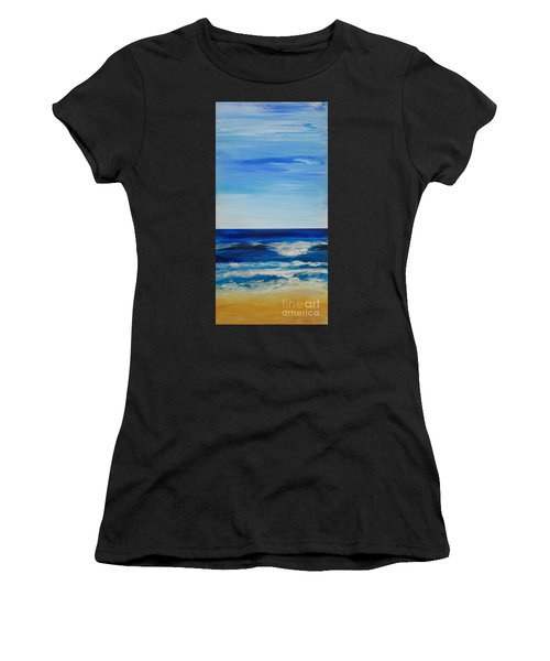 Beach Ocean Sky Women's T-Shirt