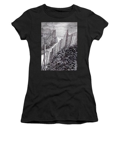 Beach Path Women's T-Shirt