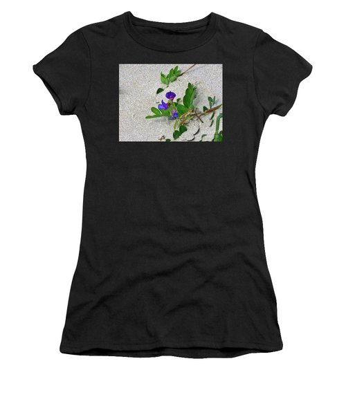 Beach Pea Vine Women's T-Shirt (Athletic Fit)