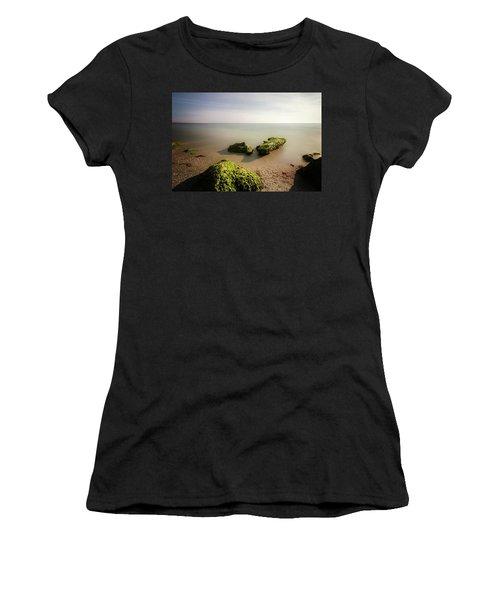 Beach Women's T-Shirt (Junior Cut) by RC Pics