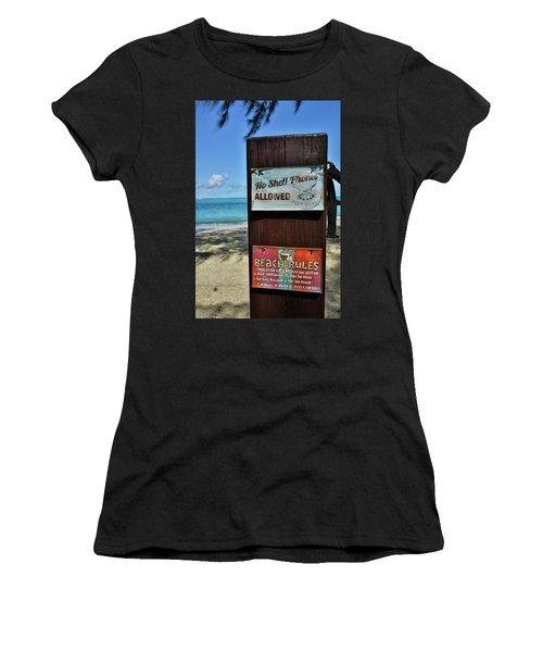 Beach Rules Women's T-Shirt