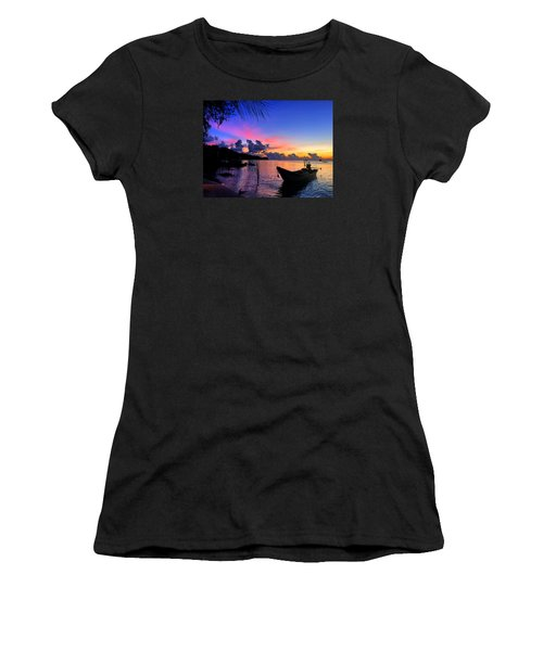 Beach Sunset Women's T-Shirt