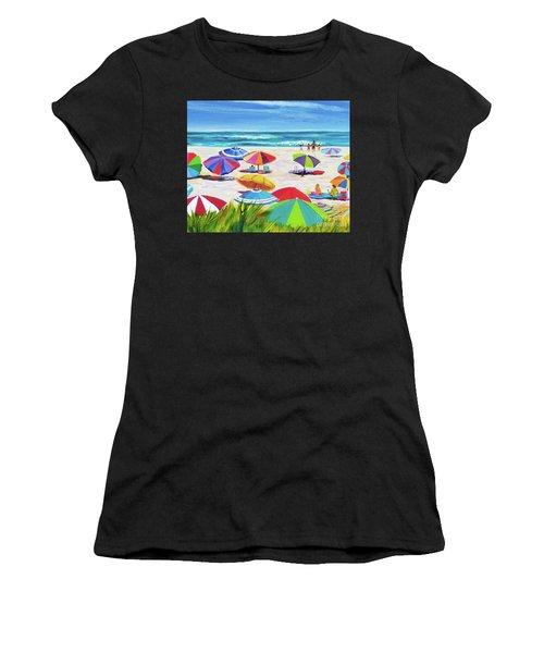 Umbrellas 2 Women's T-Shirt (Athletic Fit)