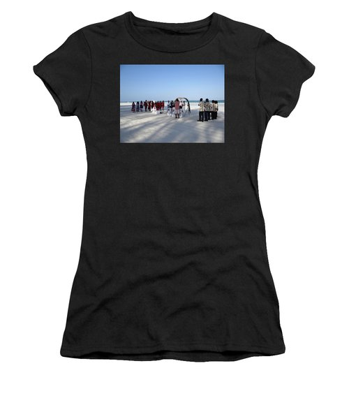 Beach Wedding In Kenya Women's T-Shirt