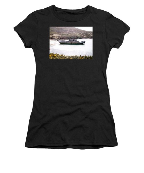 Beached Beauty Women's T-Shirt (Athletic Fit)