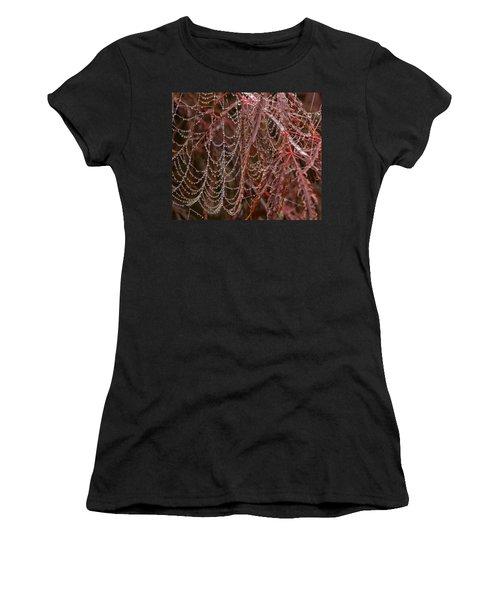 Beads Of Raindrops Women's T-Shirt