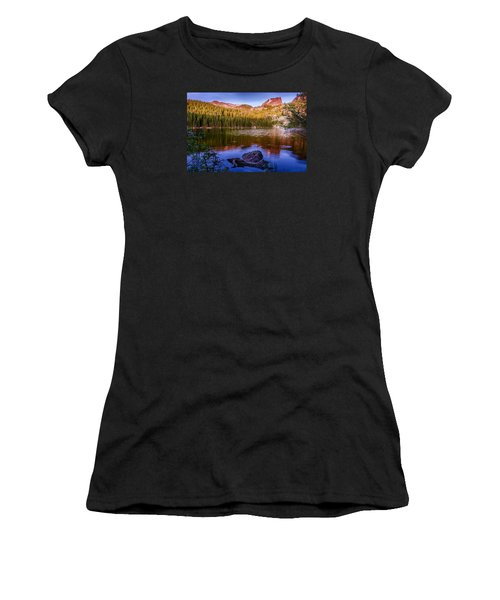 Bear Lake 1 Women's T-Shirt (Athletic Fit)