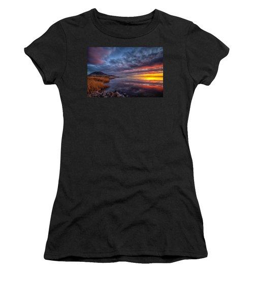 Bear Butte Lake Sunrise Women's T-Shirt
