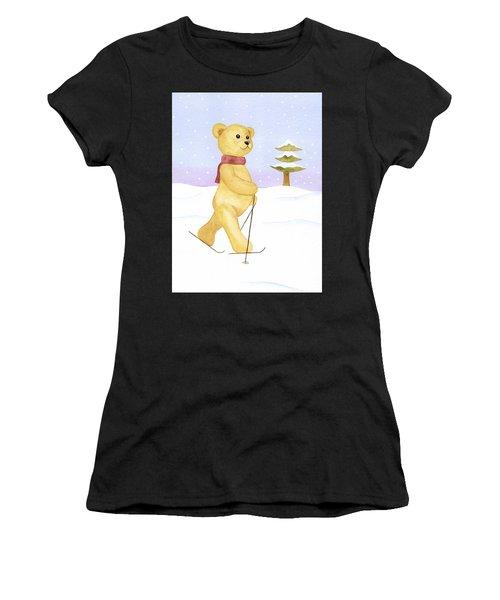Bear Women's T-Shirt (Athletic Fit)
