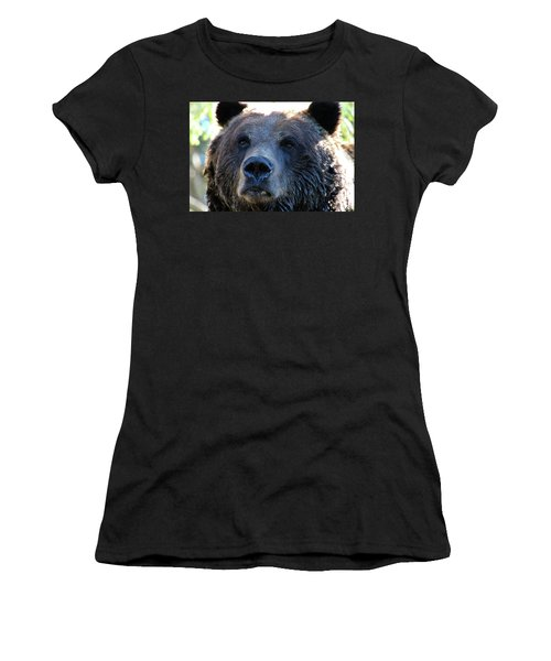 Bear On Grouse Women's T-Shirt