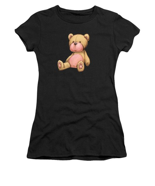 Bear Pink Women's T-Shirt (Athletic Fit)