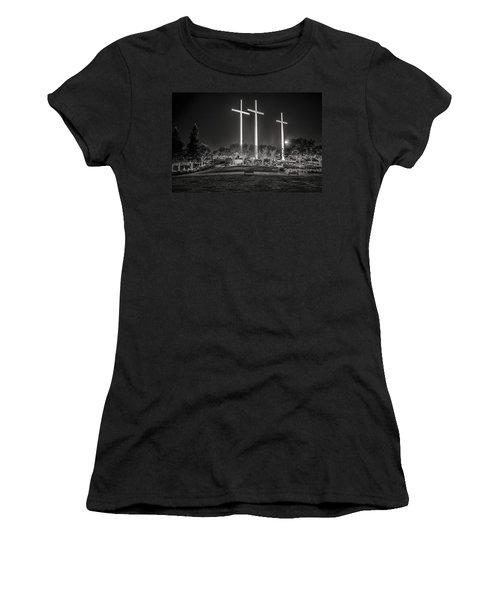 Bearing Witness In Black-and-white 2 Women's T-Shirt
