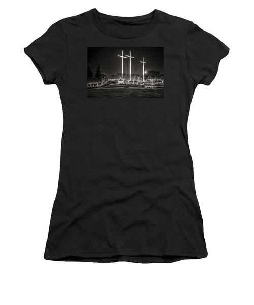 Bearing Witness In Black-and-white Women's T-Shirt