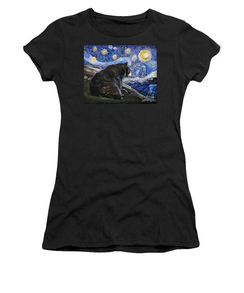 Beary Starry Nights Women's T-Shirt