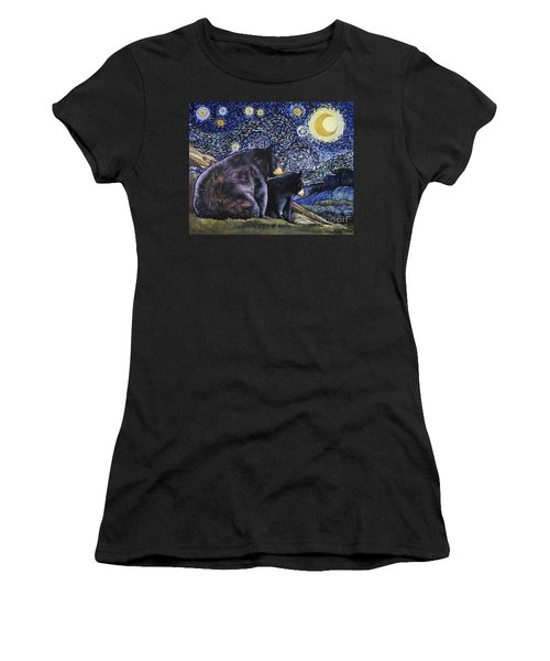 Beary Starry Nights Too Women's T-Shirt