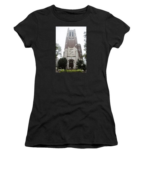 Beaumont Tower In The Fog  Women's T-Shirt
