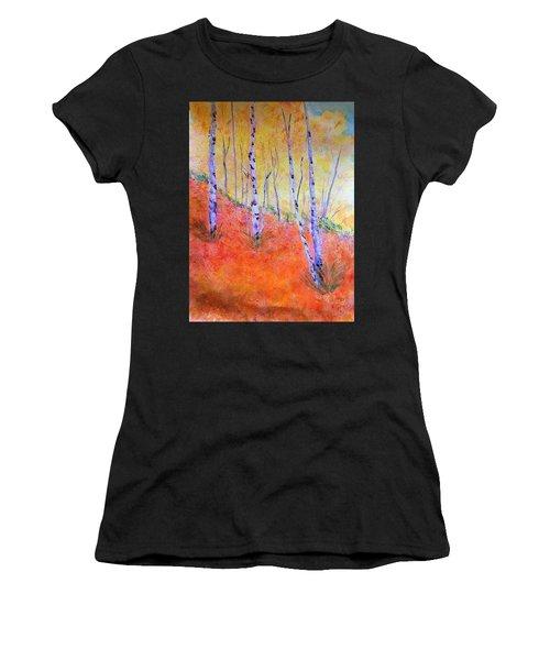 Beautiful Birches Women's T-Shirt