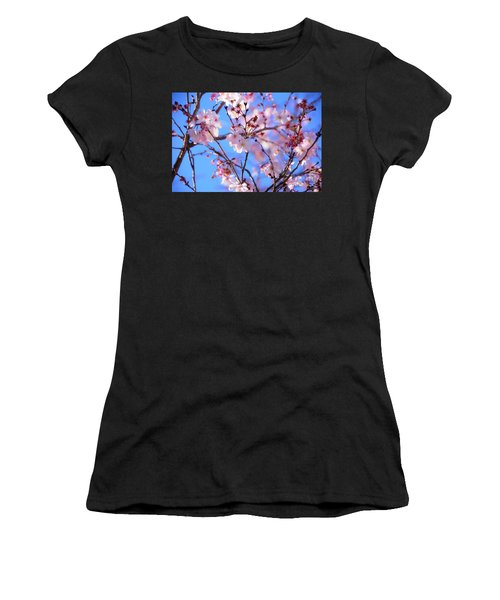 Beautiful Blossoms Blooming  For Spring In Georgia Women's T-Shirt (Athletic Fit)