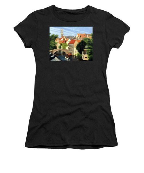 Beautiful Bruges Women's T-Shirt (Athletic Fit)