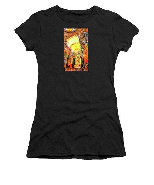 Beautiful Church In Nizza Women's T-Shirt
