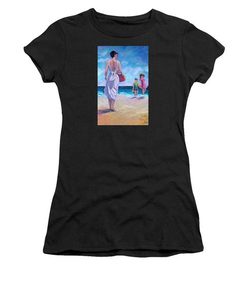 Beautiful Day At The Beach Women's T-Shirt (Athletic Fit)
