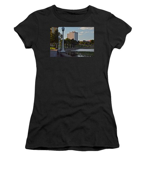 Beautiful Downtown Lakeland Women's T-Shirt (Athletic Fit)