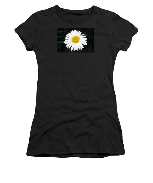 Women's T-Shirt (Junior Cut) featuring the photograph Beautiful Flower by Milena Ilieva