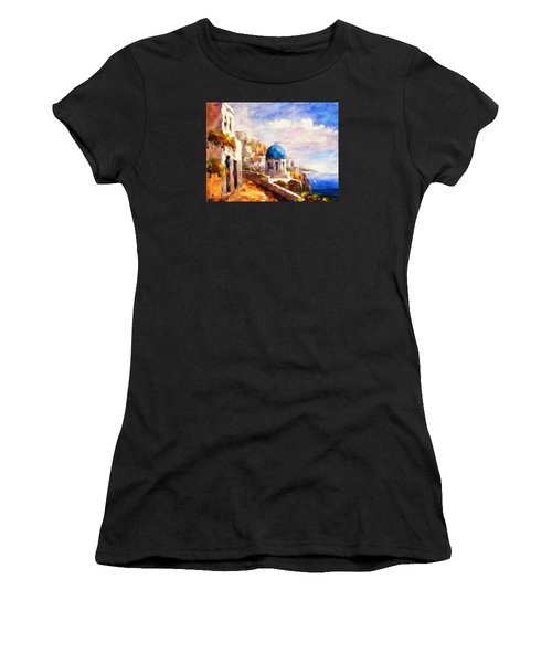Beautiful Greece Women's T-Shirt