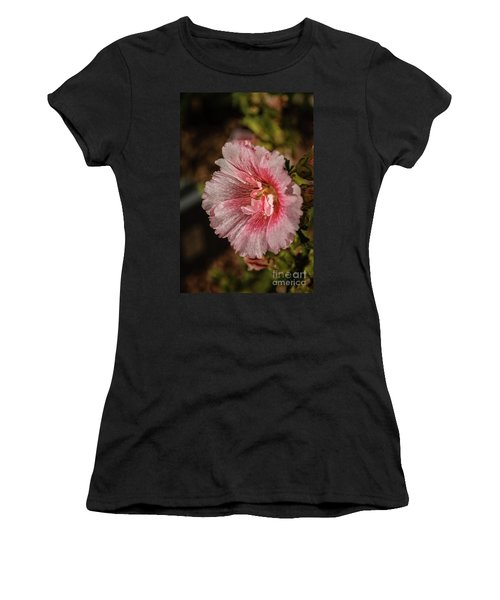Beautiful Hollyhock Women's T-Shirt