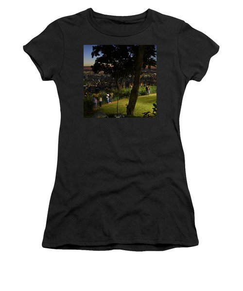Beautiful Location In Bh #vistapoint Women's T-Shirt (Athletic Fit)