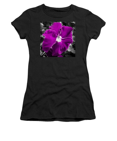 Beautiful Purple Women's T-Shirt (Athletic Fit)