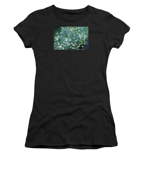 Beautiful Summer Blues Women's T-Shirt (Athletic Fit)