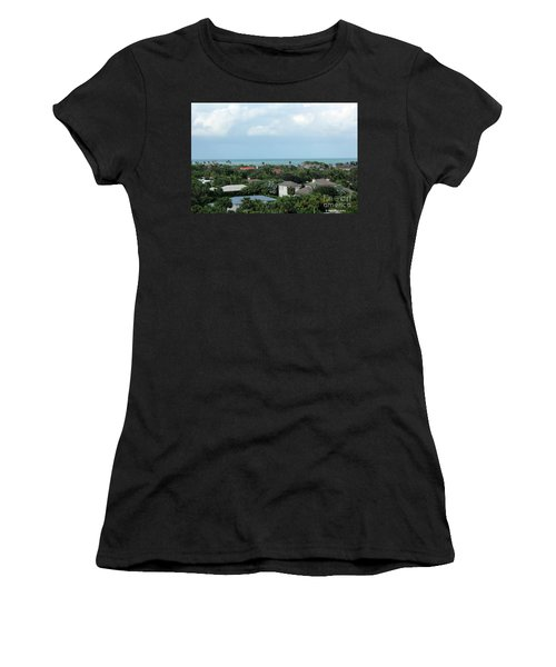 Beautiful Vero Beach Florida Women's T-Shirt (Athletic Fit)