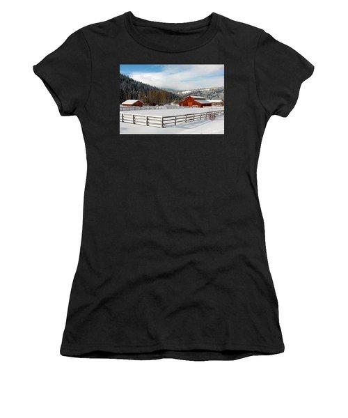 Beautiful Winter Morning Women's T-Shirt