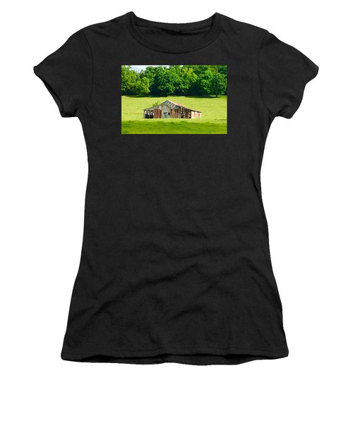Beautifully Noble Barn Women's T-Shirt (Athletic Fit)