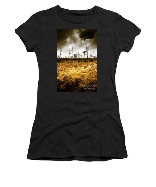 Beauty And Barren Bushland Women's T-Shirt