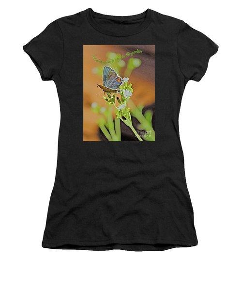 Beauty Flutters By Women's T-Shirt (Athletic Fit)